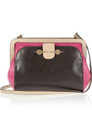 Jason Wu Daphne textured-leather and leather shoulder bag
