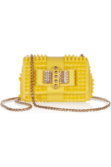 832fcd1beac Sweet Charity mini spiked leather shoulder bag