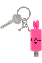 Marc by Marc Jacobs Katie Bunny 2G USB stick key fob