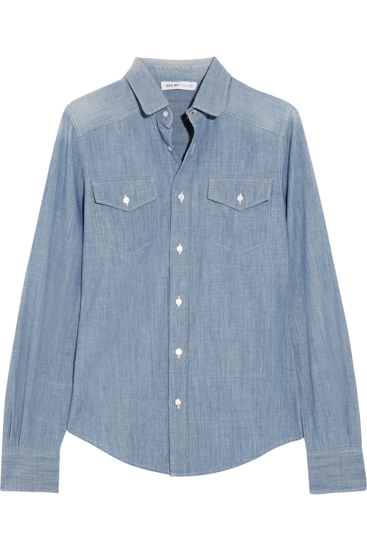 See By Chloé Chambray shirt