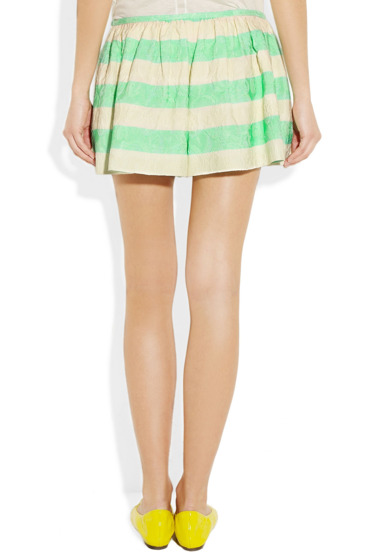 Thakoon Jacquard-twill shorts