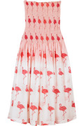 Tara Matthews Flamingo print dress