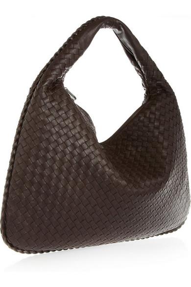 Bottega Veneta. Veneta large intrecciato leather shoulder bag e684ababfd