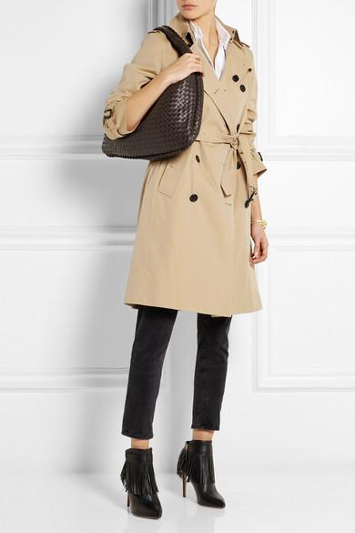 daa0f22ddda Bottega Veneta   Veneta large intrecciato leather shoulder bag   NET ...