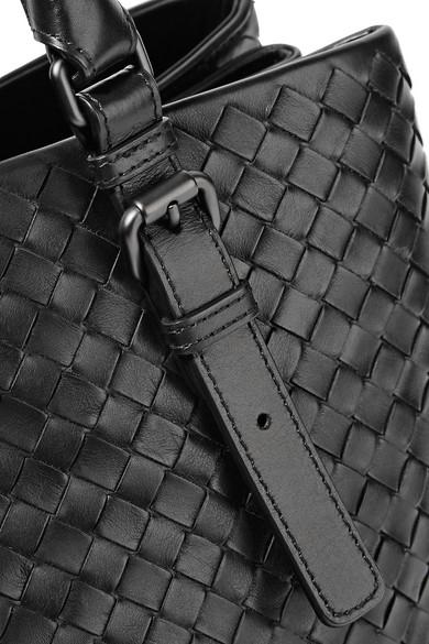 Bottega Veneta Totes Roma large intrecciato leather tote