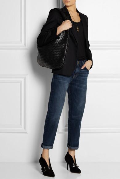 29753016352 Bottega Veneta   Maxi Veneta intrecciato leather shoulder bag   NET ...