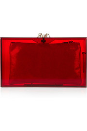 Charlotte Olympia Pandora Perspex clutch