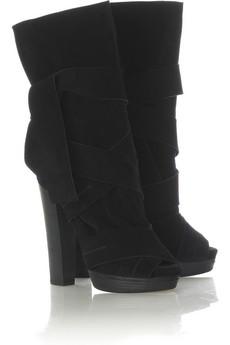 Зимняя женская обувь 2008-2009 (сапоги и ботильоны)