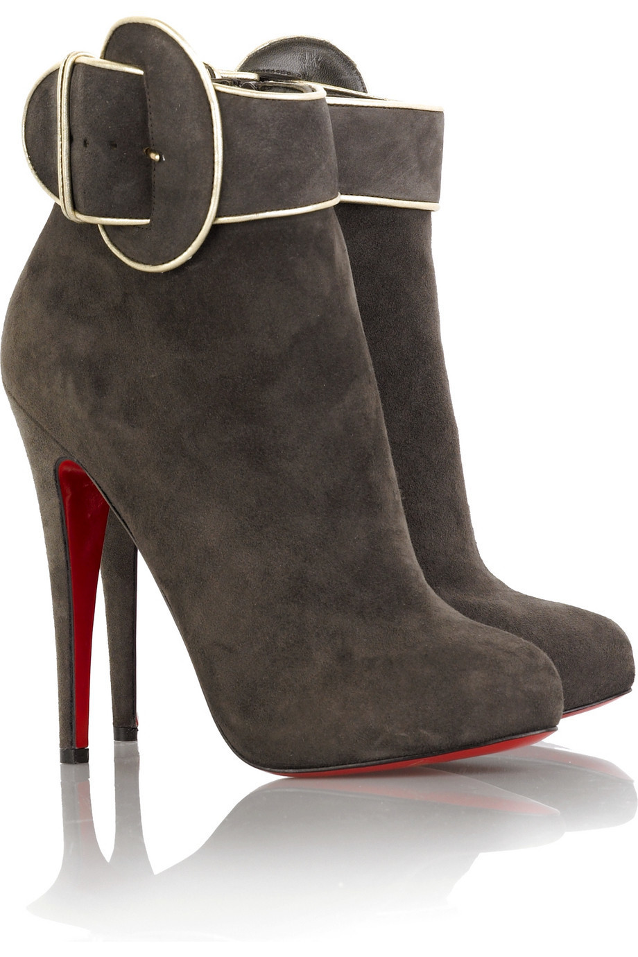 Christian Louboutin Trottinette ankle boots | NET-A-PORTER.COM from net-a-porter.com