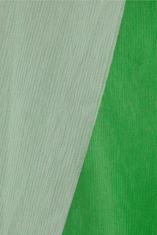 Acne Studios Marnay draped chiffon maxi dress