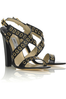 Jimmy Choo Tully leather sandals