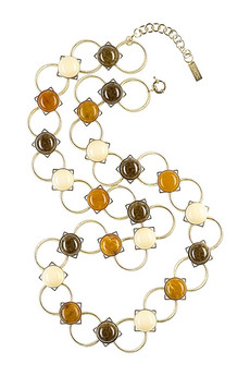 Missoni Long stone embellished necklace