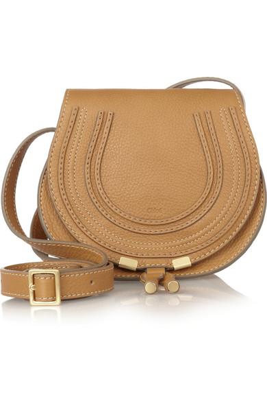 chlo the marcie mini leather shoulder bag net a. Black Bedroom Furniture Sets. Home Design Ideas