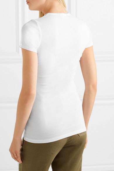 Splendid T-Shirt aus einer Modal-Baumwollmischung