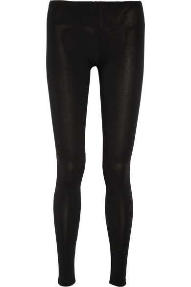 SPLENDID Stretch-Jersey Leggings in Black