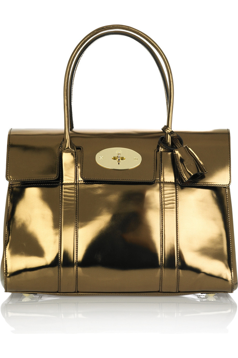 Mulberry Mirrored Bayswater bag | NET-A-PORTER.COM from net-a-porter.com
