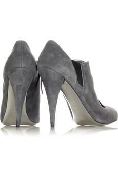Miu MiuSuede shoe boots