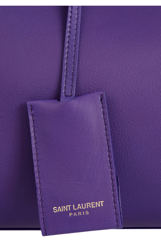 SAINT LAURENT Cabas Classique Y medium leather tote