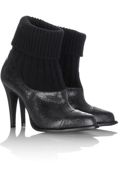 Stella McCartney Leatherette ankle boots