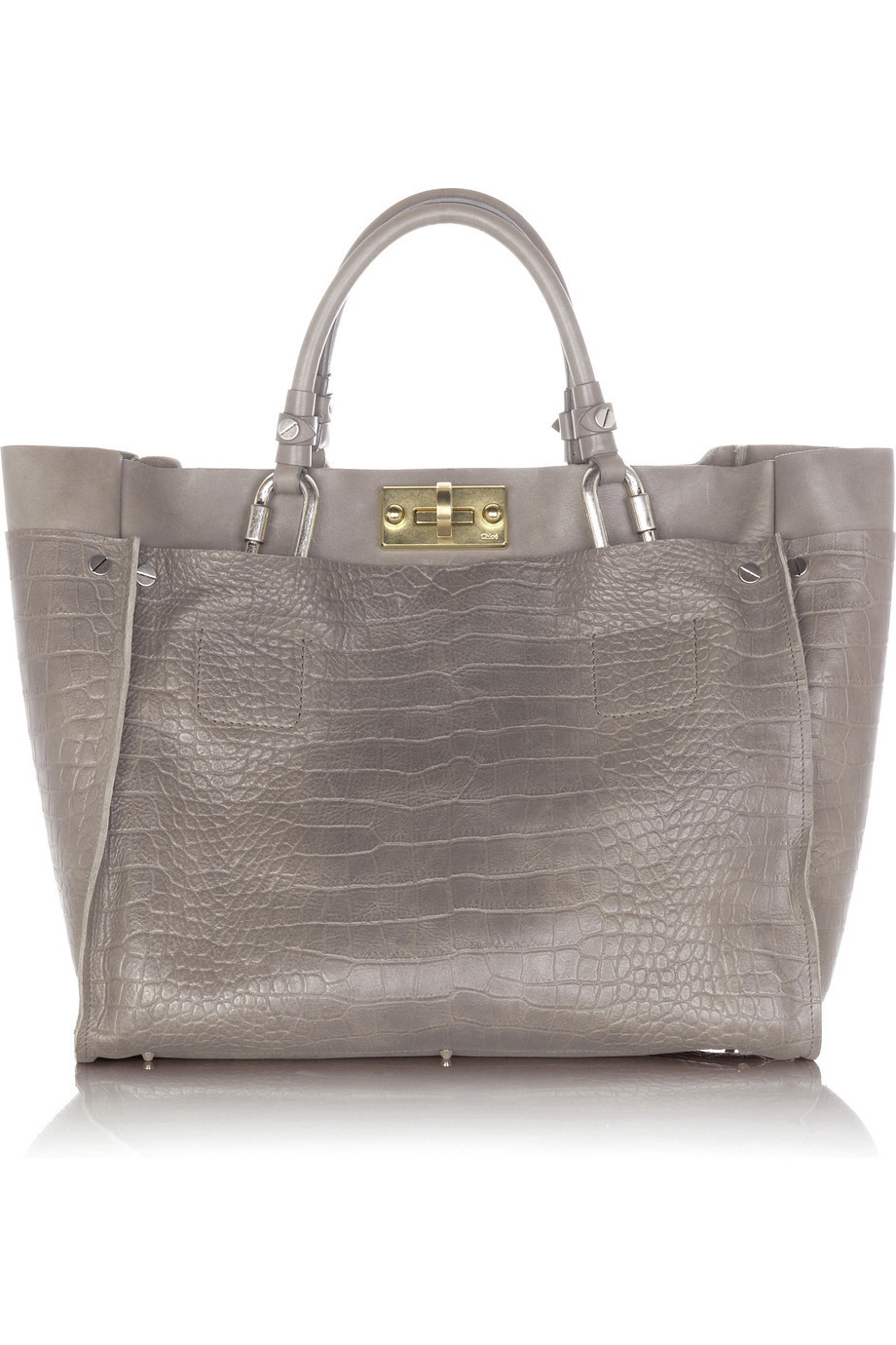 Chloé Cyndi leather tote | NET-A-PORTER.COM