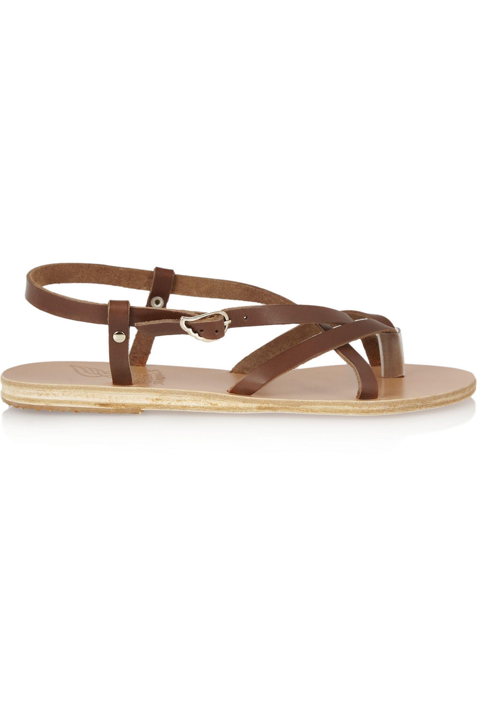 Ancient Greek Sandals Semele leather sandals