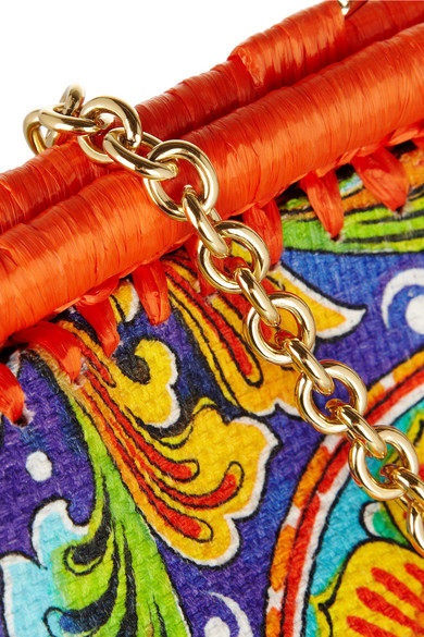 Dolce   Gabbana. Escape PVC shopper and canvas shoulder bag.  1,137. Zoom In 476b211b0d