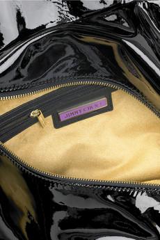 Jimmy ChooLois patent shoulder bag