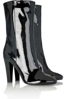 Parlak Bayan Çizme Modelleri
