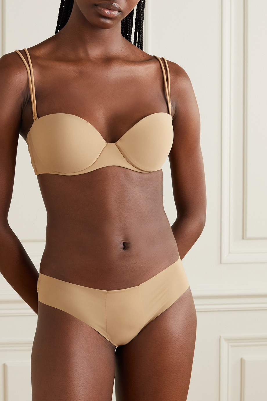 La Perla Up Date String aus Stretch-Jersey