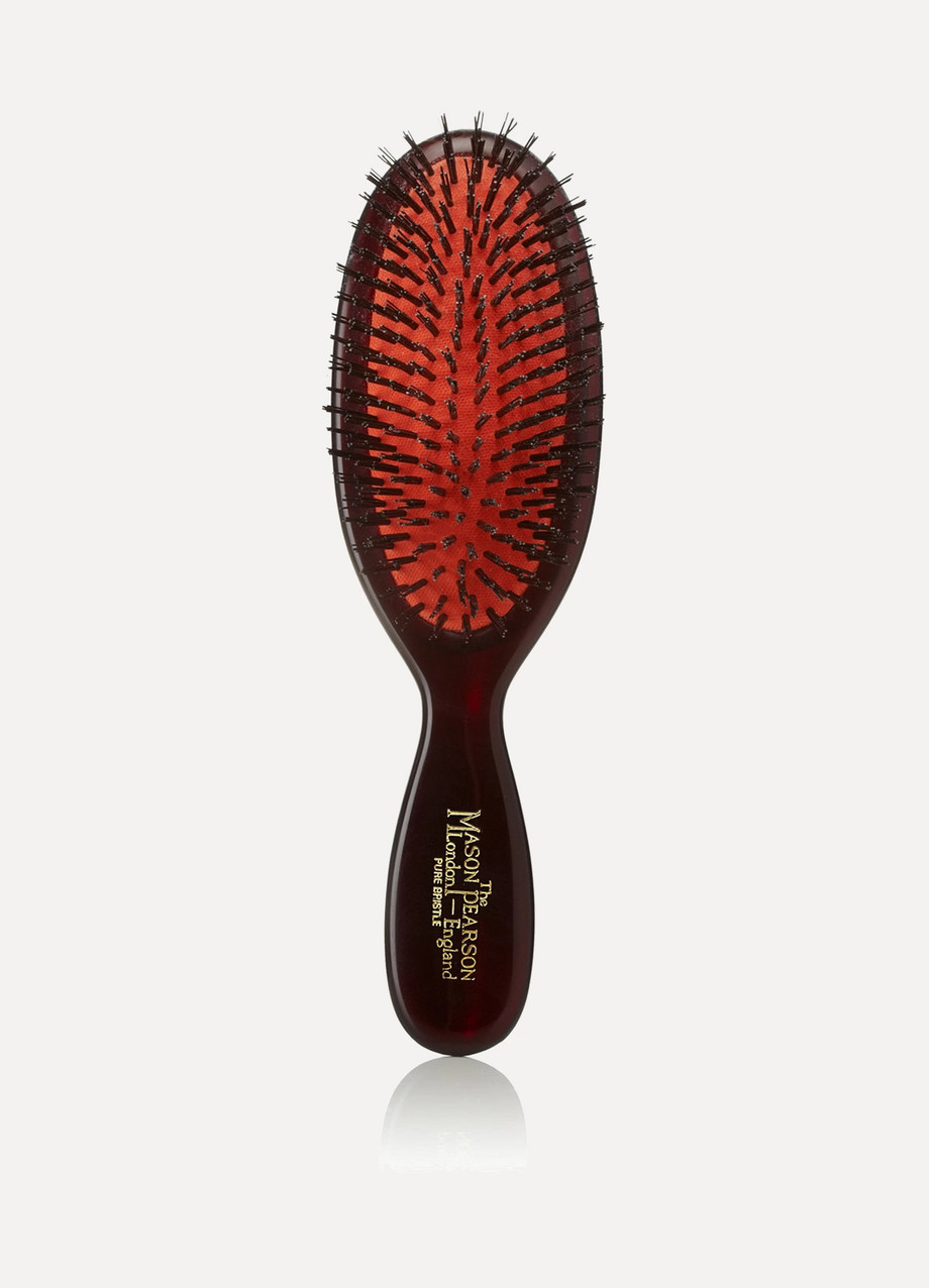 Pocket All Boar Bristle Hairbrush, by Mason Pearson
