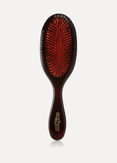 Handy Bristle Hair Brush For Medium Length Hair in Colorless