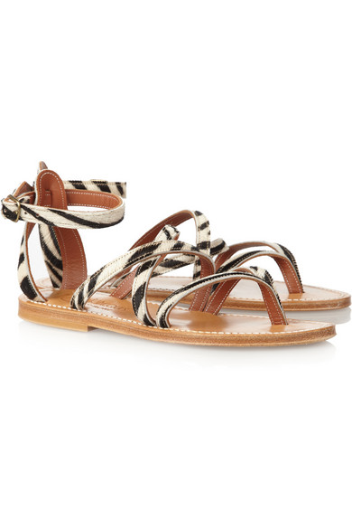 supply K Jacques St. Tropez Leather Multistrap Sandals footlocker finishline with mastercard sale online cost cheap price many kinds of for sale B56W4SvK