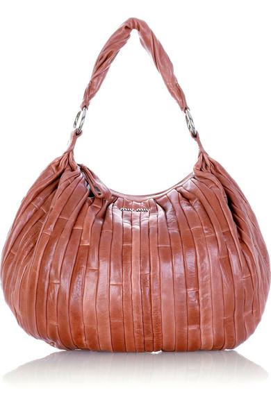 4346af897080 Miu Miu. Nappa patch leather bag