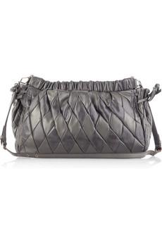 Miu MiuDiamond leather bag