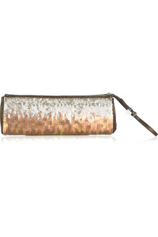 Miu Miu Paillette covered clutch  | NET-A-PORTER.COM from net-a-porter.com