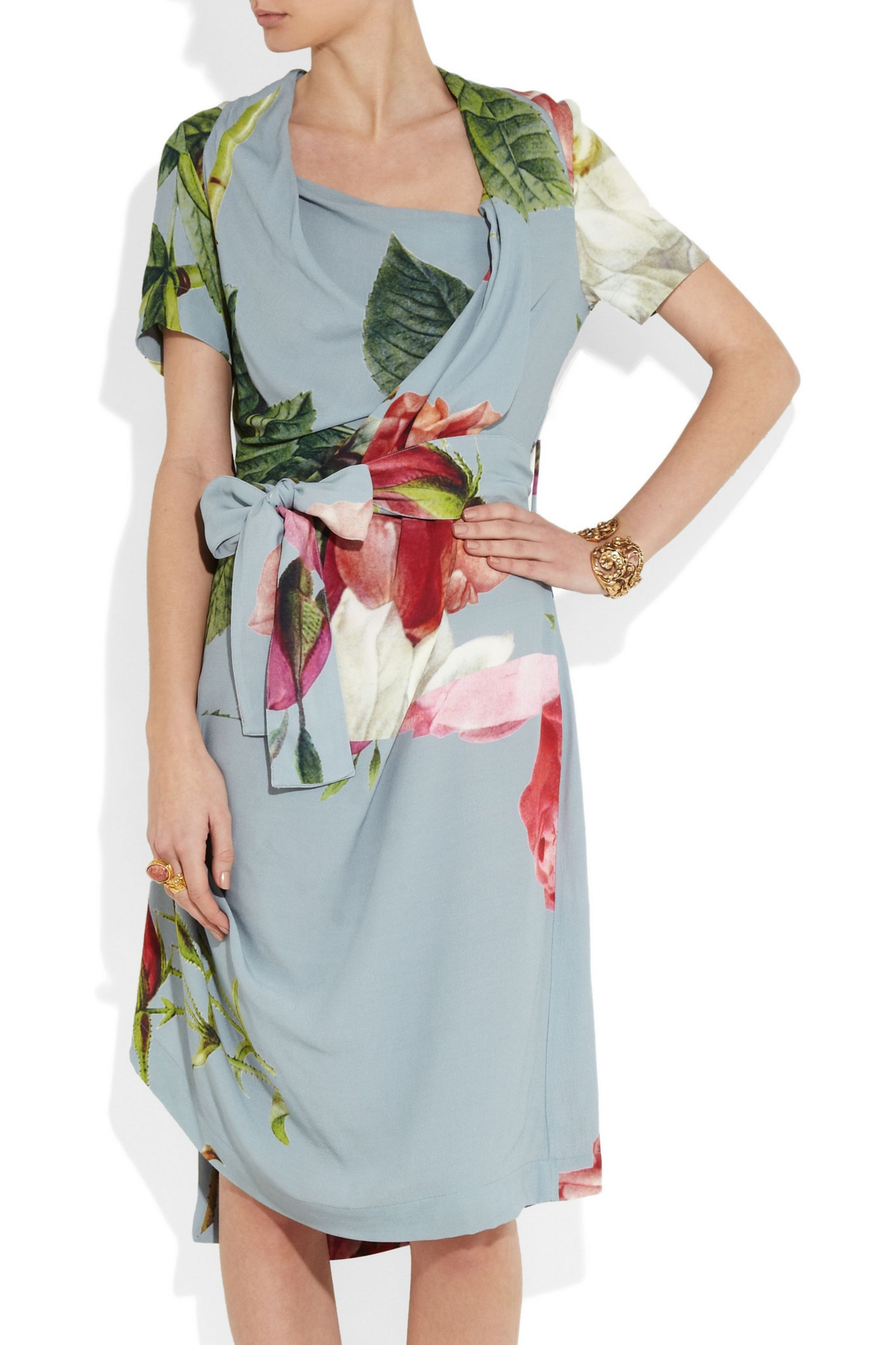 Vivienne Westwood Anglomania Daisy floral-print crepe dress