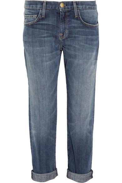The Boyfriend Cropped Mid-rise Jeans - Mid denim Current Elliott Get To Buy Sale Online Brand New Unisex Cheap Online 0c3TQ
