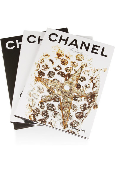 Chanel By Francois Baudot And Francois Aveline Set Of Three Hardcover Books