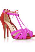 Charlotte Olympia Gilda satin sandals