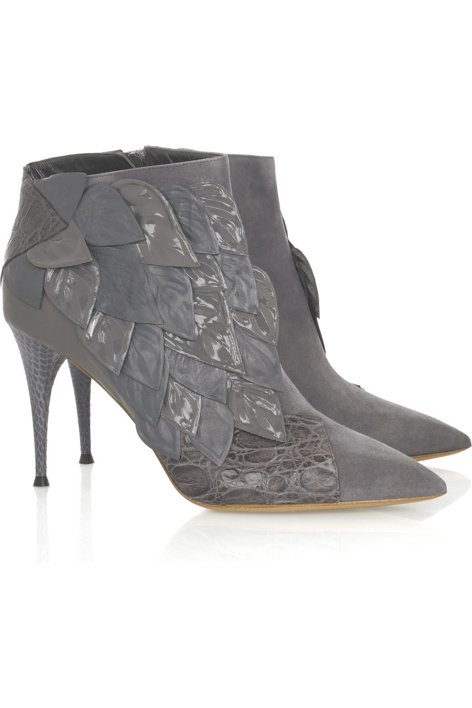 Chloé Raised leaf boots | NET-A-PORTER.COM from net-a-porter.com
