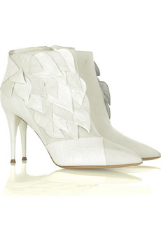 Chloé Raised leaf boots