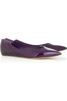 Chloé Patent leather flats