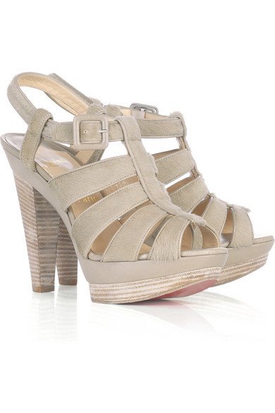 promo code 7d0e4 9a4b4 Bouclette strappy sandals
