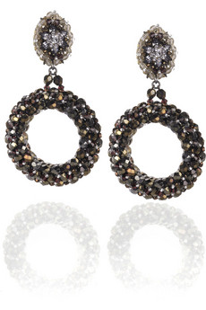 Erickson Beamon Oversized hoop earrings at Net a Porter, $445.