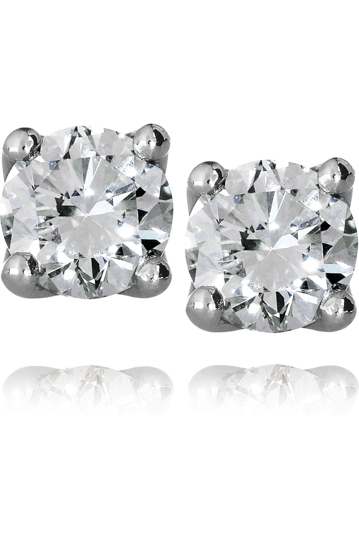 Spectrum Nina platinum diamond stud earrings