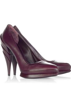 Miu MiuSculpted heel pumps