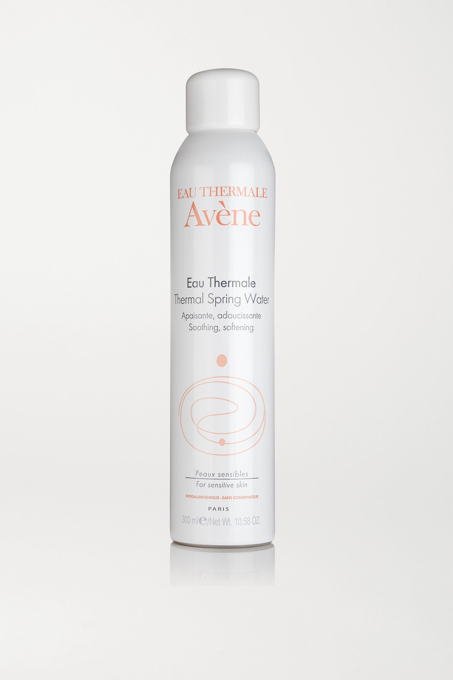 Instructions for use:Spray onto the skin in a fine mist Wait for a few seconds, then gently pat dry 300ml/10.58 fl.oz.Ingredients: Avène Thermal Spring Water, Nitrogen