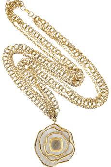 Kara by Kara RossLayered anaconda necklace