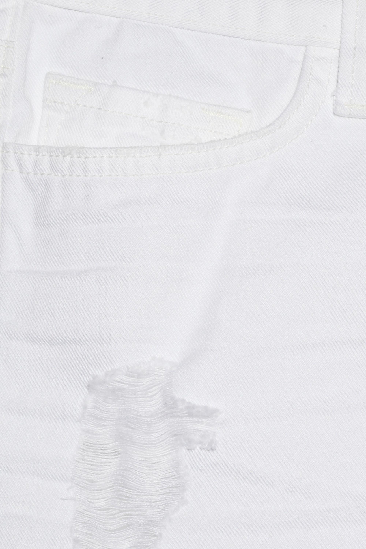 J Brand Vixen distressed low-rise denim shorts