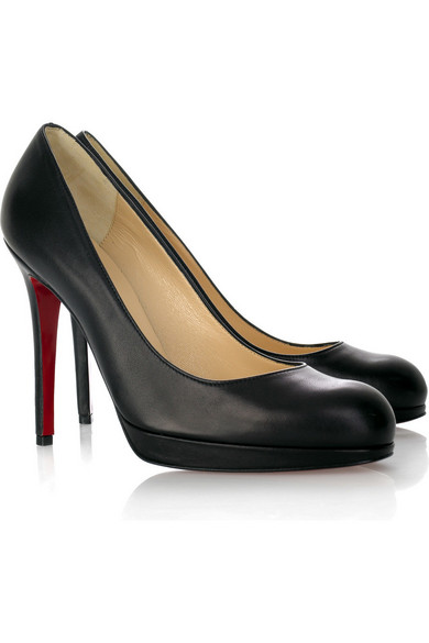Christian Louboutin. New Simple 120 leather pumps